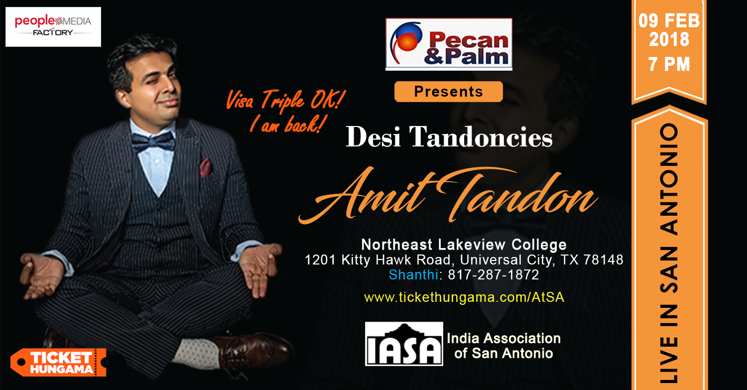 Amit Tandon - Live in San Antonio