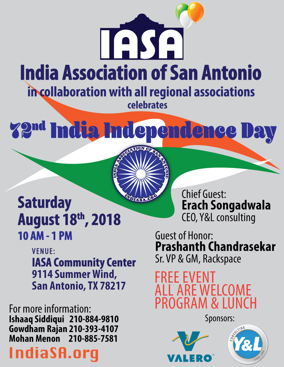 2018 Indian Independence Day Celebrations